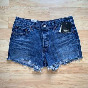 Levi's 501 Cutoff Shorts (Indigo Avenue)